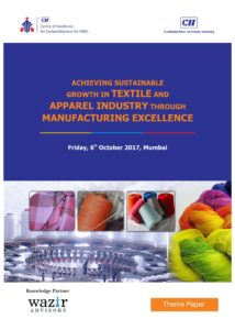 Achieveing Sustainable Growth in Textile and Apparel Sector through Manufacturing Excellence-01