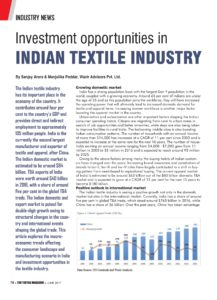 TheTextileMagazine - Opportunities in India-06