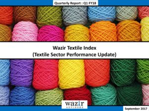 Wazir Textile Index Report - Q1FY18-01